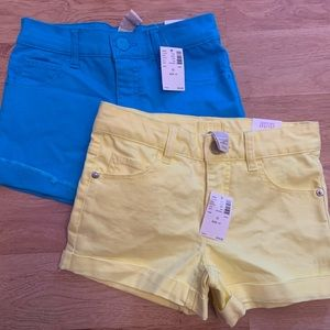 Justice jean shorts (size 10)